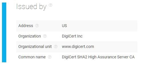 SSL Certificates Chain API